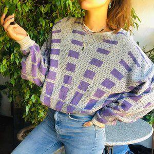 Vintage | Italian Abstract Boxy Sweater